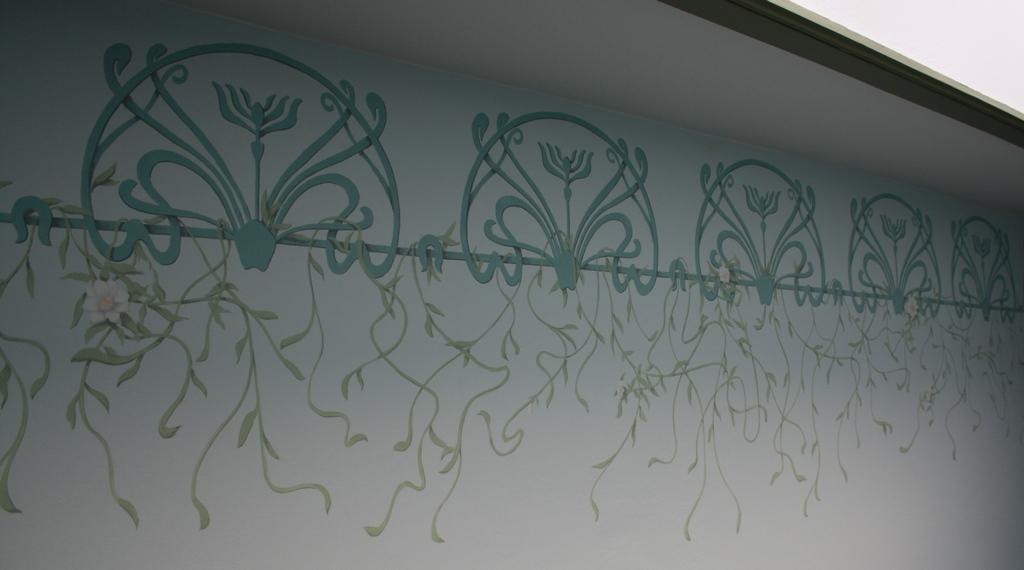 Atelier Christophe Ourdouillie, Peintures Murales Et Frises Pour
